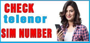 Check Telenor SIM number
